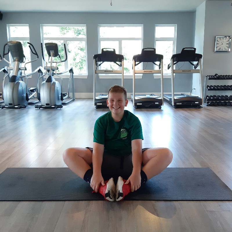 static stretches for youth athletes