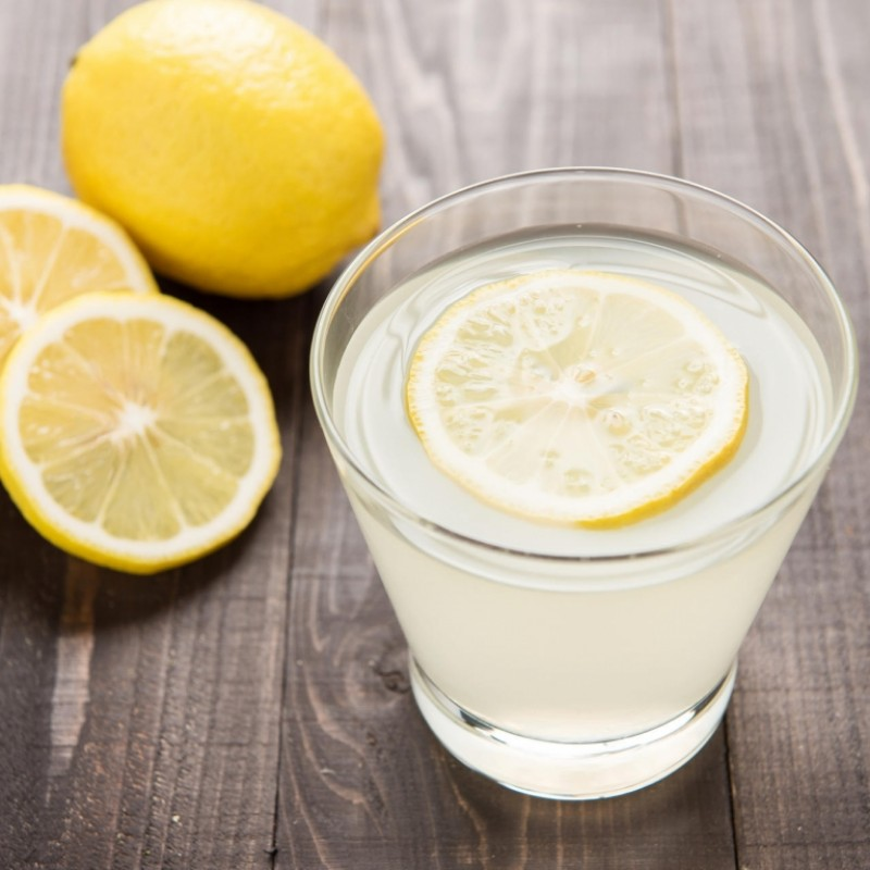 balance your ph with lemon water
