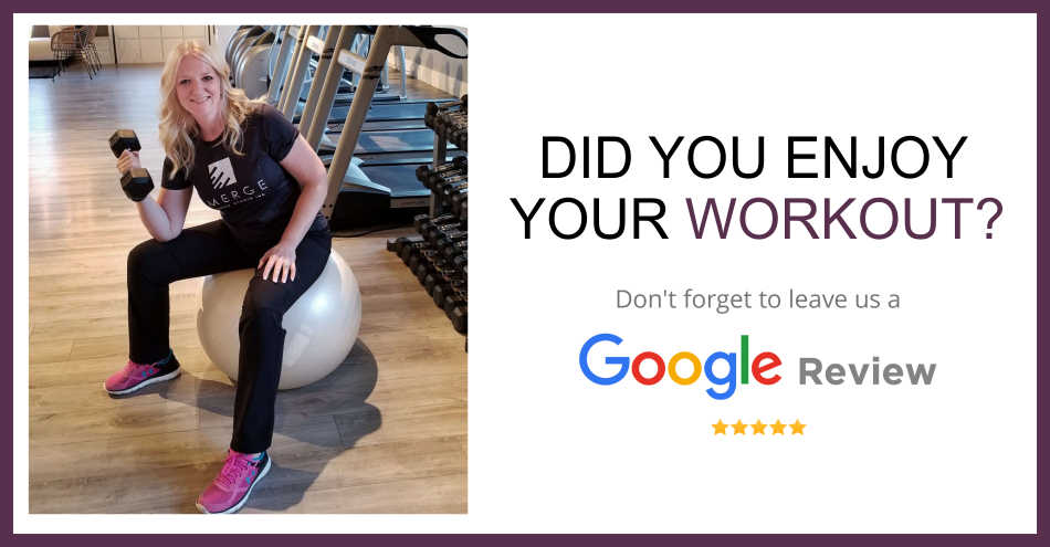 Emerge Fitness Google Review